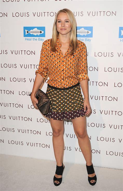 Style Kristen Bell Fabsugar Want Need by Kristen Bell Print Blouse Looks Stylebistro