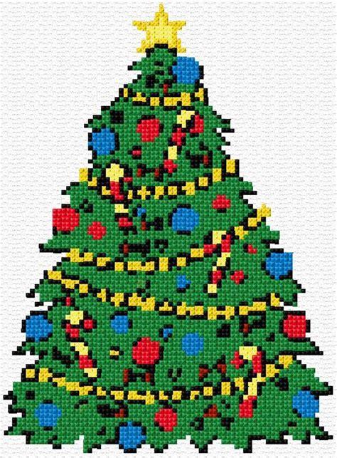 christmas tree needlepoint pattern 62 best x stitch trees images on pinterest cross stitch
