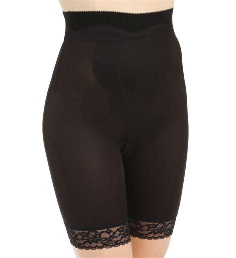 rago high waist long leg pantie girdles rago 6226 high waist long leg girdle panty ebay