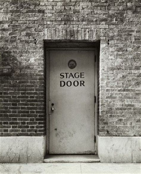 Stage Door by Stage Door The Show Must Go On