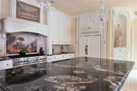 Titanium Granite Countertops With White Cabinets by Titanium Granite Kichen Traditional Kitchen Dallas