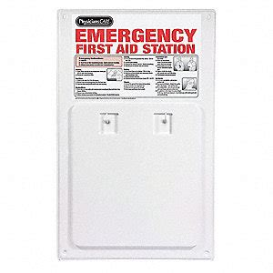 wall mounted first aid cabinet empty physicianscare empty first aid cabinet wall mount 49h406
