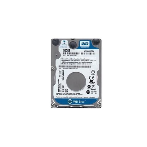 hdd western digital blue 500gb sata 3 0 16 mb
