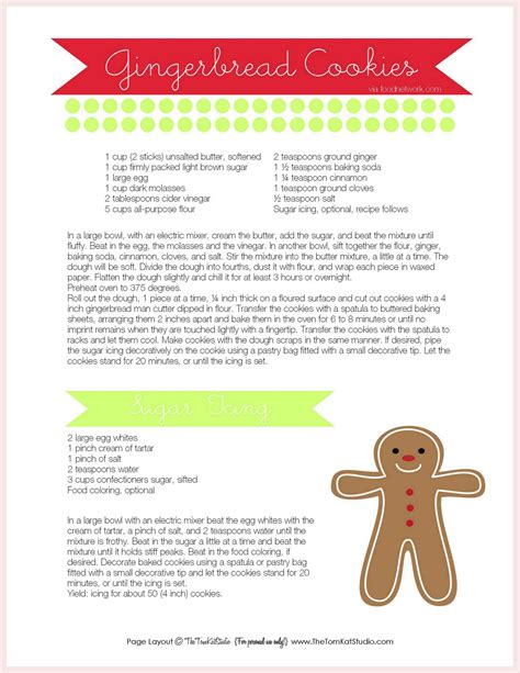 printable biscuit recipes free printables gingerbread men cookie recipe sweet