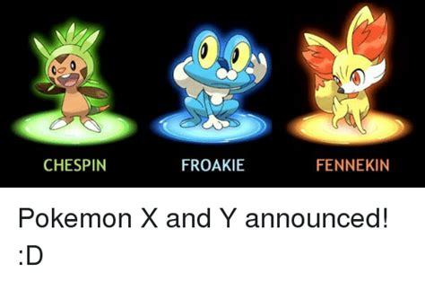 Pokemon X And Y Memes - 25 best memes about froakie froakie memes