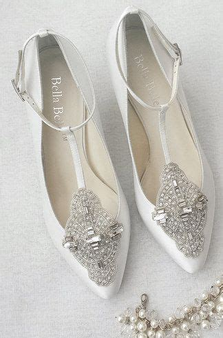 Bridal Flat Pumps by Best 25 Flat Bridal Shoes Ideas On Bridal