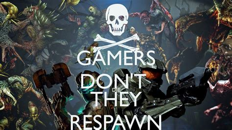 Kaos Gemers Don T Die gamers don t die they respawn poster jensdm keep calm