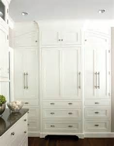 Built In Pantry Cabinet Pantry Doors Design Ideas