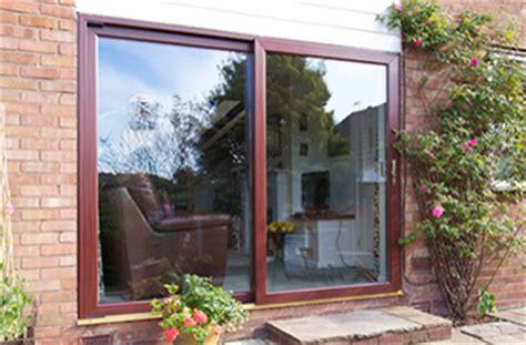 8ft ft 2390 2090 upvc rosewood sliding patio door