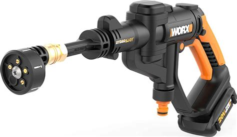 worx hydroshot  cordless watering  cleaning tool