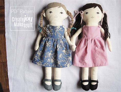 pattern for felt dress 18 quot doll sewing pattern with dress and felt shoes