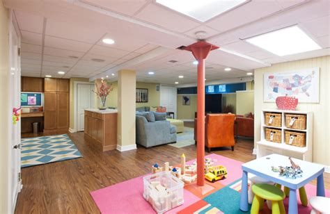 basement renovations for kids room decor