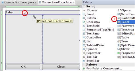 swing documentation gui designer swing gui designer intellij