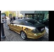 Mercedes Clk Black Matt  Gold Vinyl YouTube