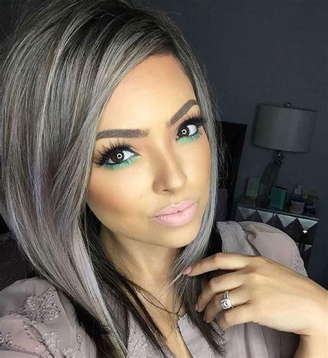 how to color gray hair gray hair color ideas 2018 2019 hair tutorial