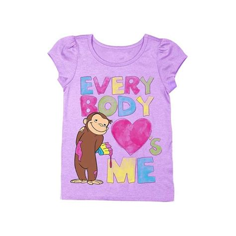everybody me lilac curious george sleeve