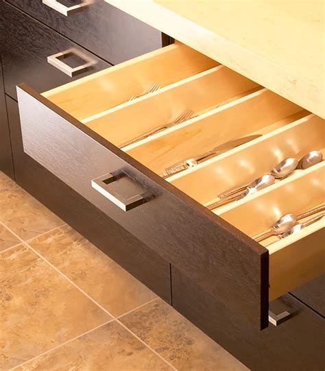 Drawer Partitions by Custom Storage Cabinets Woodharbor Custom Cabinetry