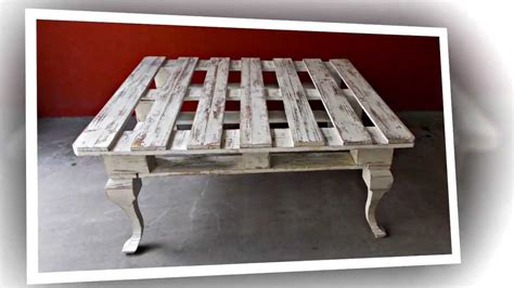 Mesita hecha con un palet / Coffee table made from a pallet   YouTube