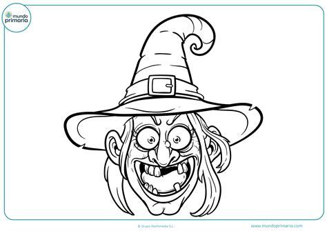 imagenes de brujas bonitas para dibujar dibujos de halloween para colorear mundo primaria