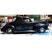 Under Construction AMT 1940 Ford Coupe