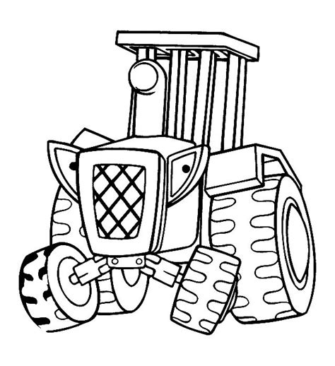 easy tractor coloring pages tractor coloring pages