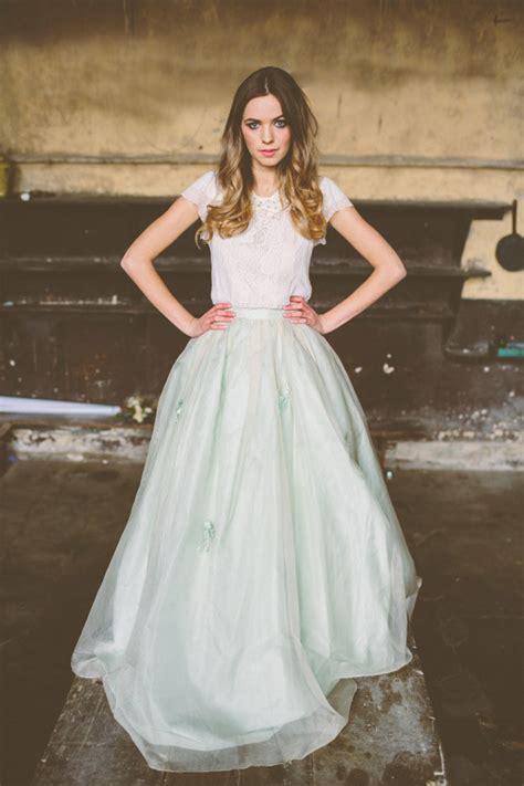 braut rock bridal fashion trend two piece wedding dress arabia