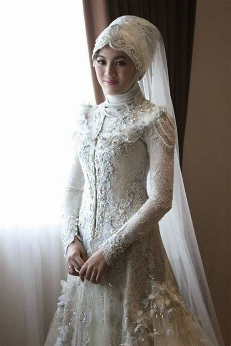 Headpiece Headpiece Pengantin 3 gaun pengantin alyssa soebandono wedding kahwin muslim tips and muslim