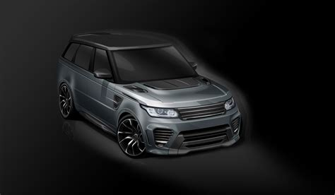 land rover overfinch overfinch range rover supersport makes salon priv 233 debut evo