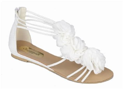 White Wedding Sandals by White Sandals White Bridal Sandals