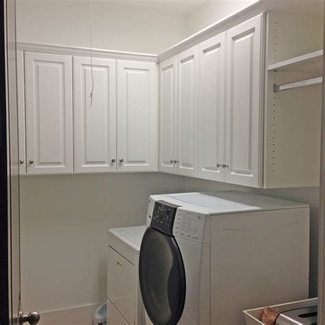 laundry room cabinets secrets for functional and attractive laundry room