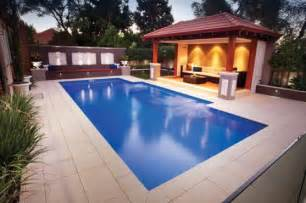 Small Backyard Landscape Ideas Pool Design Ideas Get Inspired By Photos Of Pools From