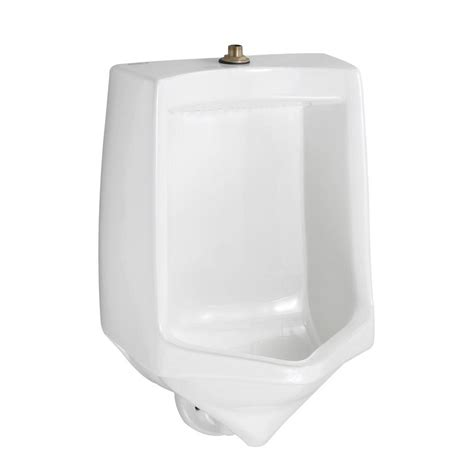 American Standard Trimbrook 0.85   1.0 GPF Urinal with Siphon Jet Flush Action in White (Valve
