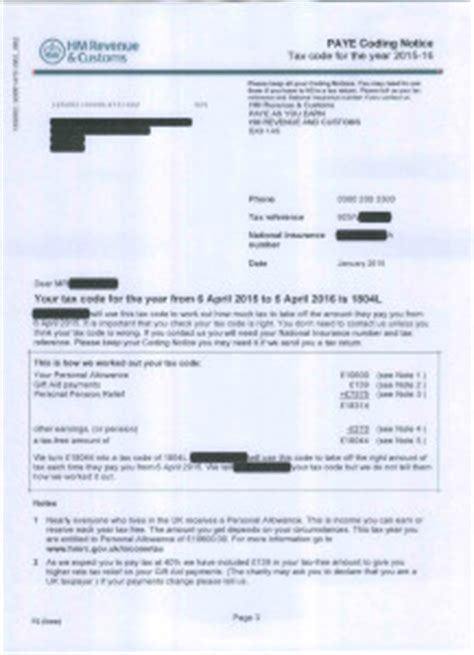 Hmrc National Insurance Letter X P6 Archives Huston And Co