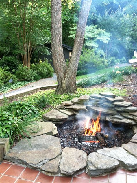 Backyard With Fire Pit Landscaping Ideas » Home Design