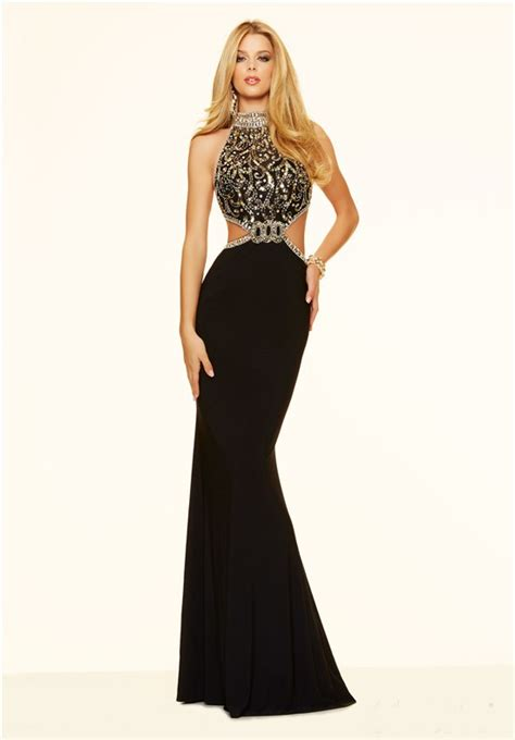 black and gold beaded dress unqiue side cut out backless black and gold beaded