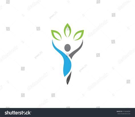 health logo template stock vector 515694094