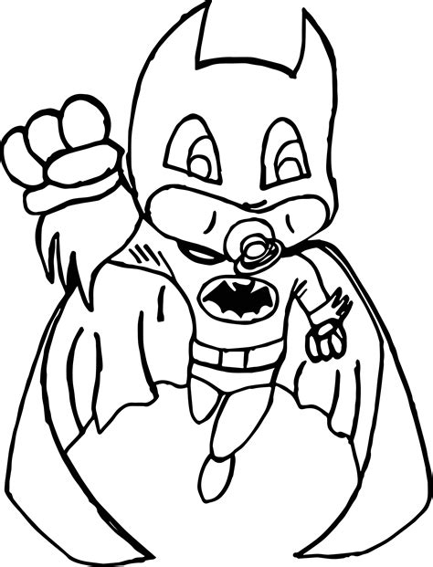baby batman coloring pages baby batman coloring page wecoloringpage