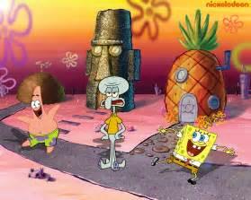 spongebobs haus spongebob squarepants spongebob squarepants wallpaper
