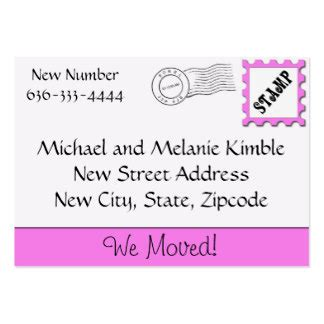 we moved cards templates moving home business cards moving home business card designs