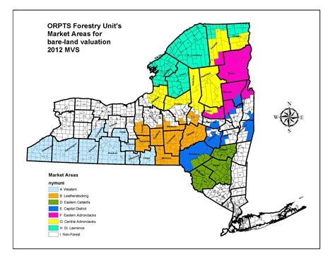 Nyc Property Tax Records Forestry S Bare Land Valuation Map