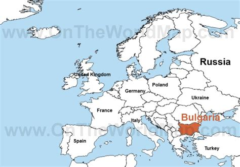 bulgaria on a world map bulgaria on the world map bulgaria on the europe map