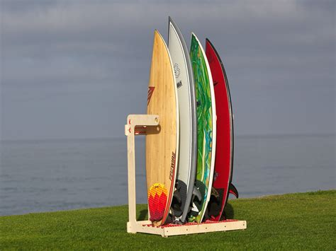 Vertical Surfboard Rack Plans by Alexey Surfboard Rack Open Source Design From Obrary