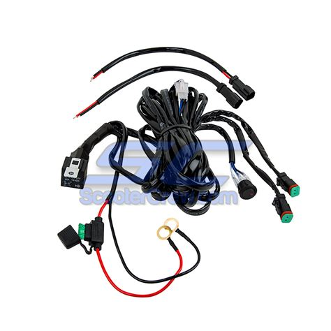 Wire Harness 2 Light Connection Led Light Bar Led Light Bar Wire Harness
