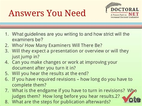 thesis title defense questions dissertation defense questions