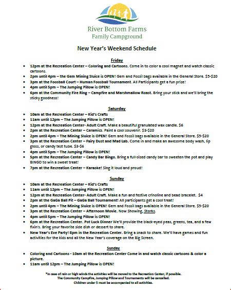 Columbia Mba Class Schedule by New Years Cing In Columbia South Carolina