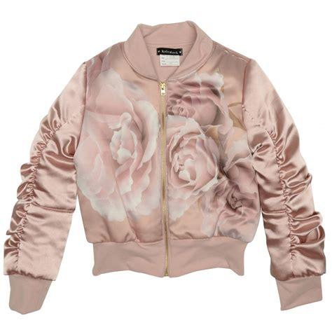 Pink Flower Jacket kate mack brown and pink flower jacket