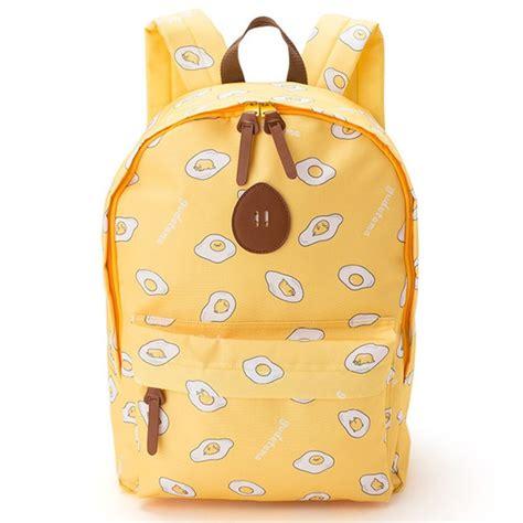 Sanrio Original Pouch 1 sanrio original gudetama ぐでたま kawaii egg backpack school bag yellow a shop