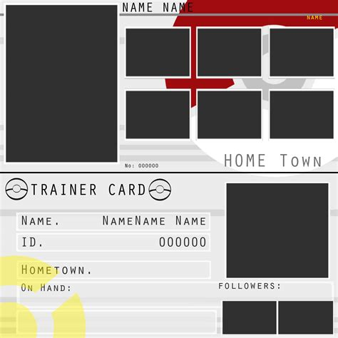 make your own trainer card trainers card by zelroy on deviantart