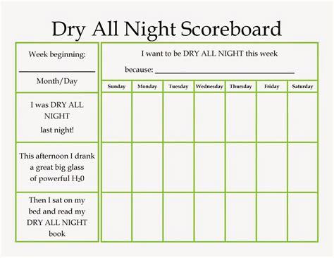 printable reward charts for dry nights designing life dry all night printable