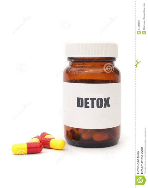 How To Detox My From Pills by Detox Pills Stock Photo Image 34604650